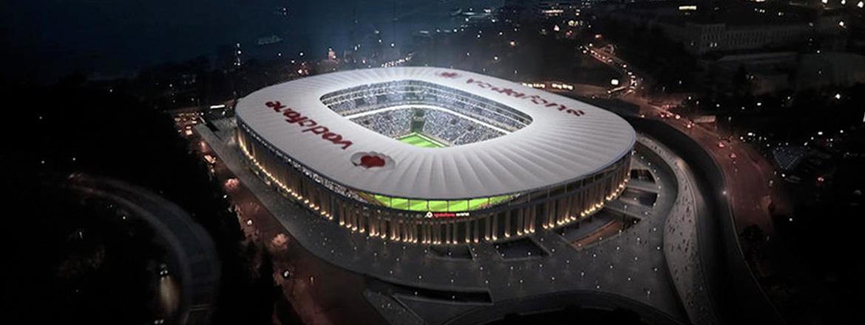 Vodafone Arena yuksek teknoloji K ARRAY KH5 / KS5 ürünleri ile donatıldı